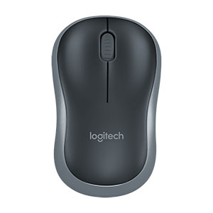 Logitech M185 Wireless compact mouse black - 910-002235