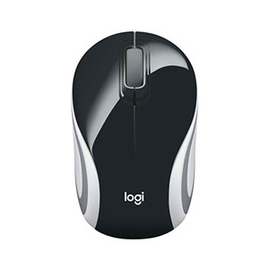 Logitech M187 Mini Black Wireless Mouse - 910-002731