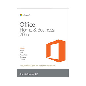Microsoft Office Home and Business 2016 - 1 User