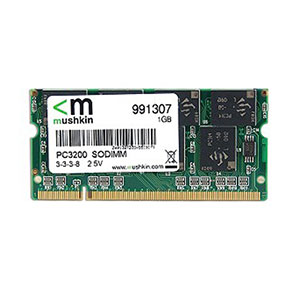 Mushkin 1GB Laptop RAM DDR1 - PC3200