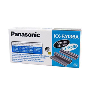 Panasonic Ribbon KX-FA136A - Black