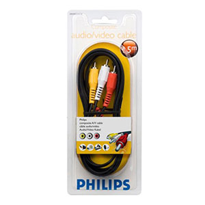 Philips Cable Audio Video 1.5m - SWV2532W/10