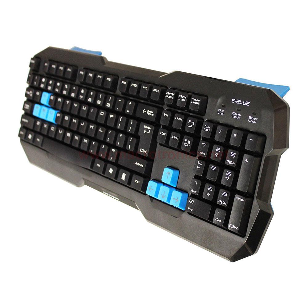 E Blue Polygon Gaming Keyboard Ekm075 Gaming Keyboards