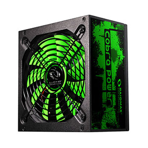 Raidmax Cobra Power 500W Power Supply (Bronze Certified) - RX-500AF-B