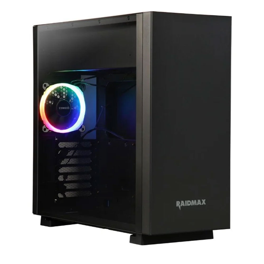 Raidmax Enigma Black Computer Case Mid Tower - S14TB