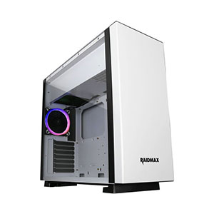 Raidmax Enigma White Computer Case Mid Tower - S14TW
