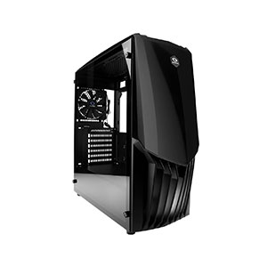 Raidmax Gama Computer Case Mid Tower Black - A18TB