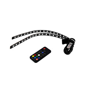 Raidmax RGB LED Light Strip With RC Pack of 2 - LD-302R