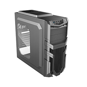 Raidmax Vortex V5 Computer Case Mid Tower Black - ATX-405WB