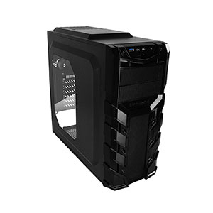 Raidmax Vortex V3 Computer Case Mid Tower Black - ATX-403WB