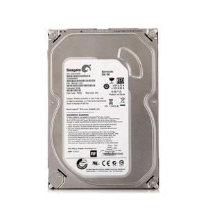 Seagate Barracuda 3.5-inch HDD 500GB - ST500DM002
