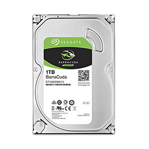 Seagate BarraCuda 3.5-inch HDD 1TB - ST1000DM010