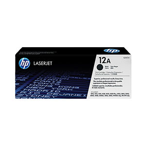 HP Toner 12A - Black