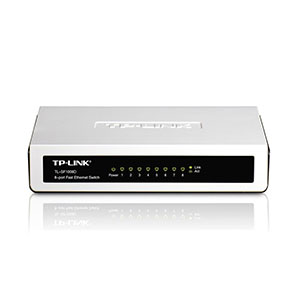 TP-Link 8-Port Fast Ethernet Switch - TL-SF1008D