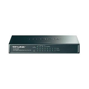 TP-Link TL-SG1008P Gigabit Switch - 8 Ports 4 POE