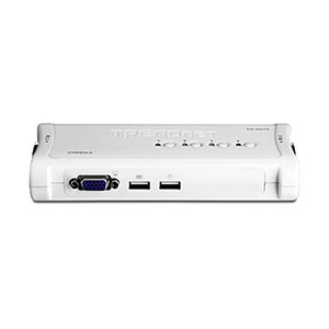 Trendnet KVM-TK407K KVM Switch - 4 Ports