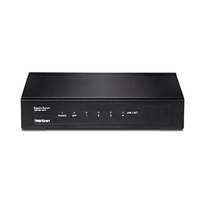 Trendnet TEG-S51SFP Gigabit Switch - 4 Ports