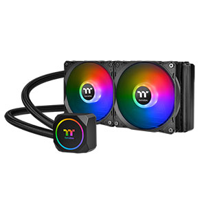 Thermaltake TH240 AIO CPU Liquid Cooler ARGB - CL-W286-PL12SW-A