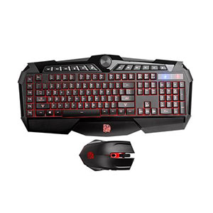 Tt eSports Gaming Keyboard And Mouse KB-CPC-MBBRUS-01 Challenger Prime RGB