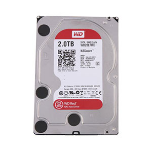 WD Red 3.5-inch HDD 2TB - WD20EFRX